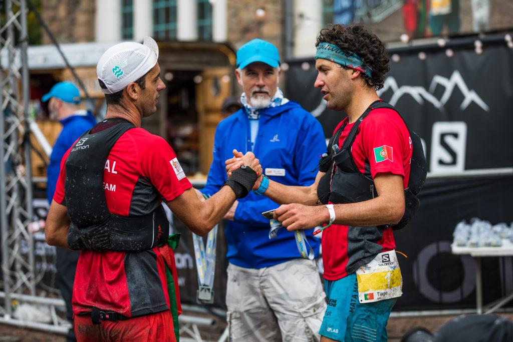 Finish - Portuguese Runners